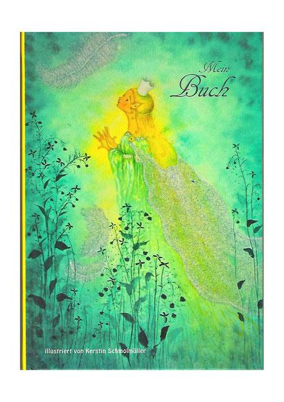 Wenn du das Buch öffnest, kommst du in eine fantastische Welt der kleinen Wesen, der Elementarwesen und Naturstimmungen. Blankoband, Bilderbuch, Notizbuch, Tagebuch, Poesiealbum, Skizzenbuch.