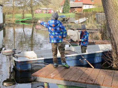 Angelurlaub mit Kindern, Angeln ohne Angelschein, Angelurlaub MV, Drewensee angeln