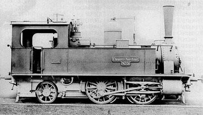 Lok Nr. 5 Sächsische IIIb T Tenderlokomotive Quelle: Wikipedia