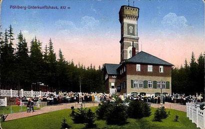 Das Unterkunftshaus 1923