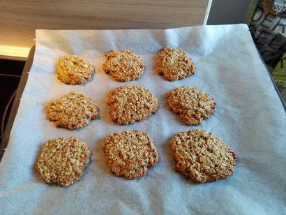 Regionalsport Hazel and Hazel go vegan Glutenfrei Vegan Haferflocken Schoko Cookies