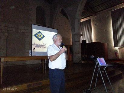 Daniel Le Bot : conférence sur la SNSM