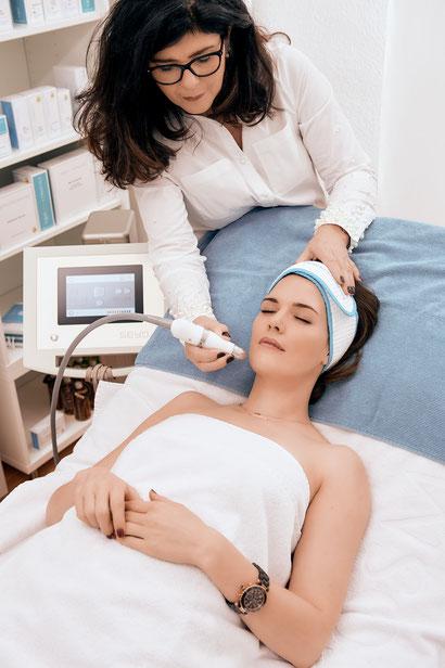 Applikation Sauerstoff Aesthetic Skincare Köln