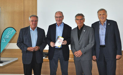 vlnr.: Manfred Muchar, Leopold Stieger, Reinhard Huber, Bernhard Holzer