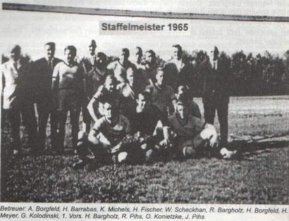 Staffelmeister 1965