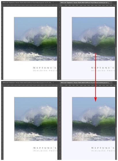 SoftProof, Photoshop, ohne und mit Anpassungen, Dr. Ralph Oehlmann, Oehlmann-Photography