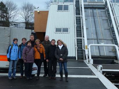 Gruppenbild v.l.: Barbara und Uli Lauber, Andrea und Thomas Engel, Ingrid und Andreas Kolk, Gerwin Fengler und Kathrin Schrewe