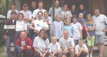 Die Teilnehmer der Vereinsfahrt 2001 nach Rosas / Nordspanien