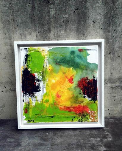 """zeigt WVZ 09/2017 """"Summer feeling"""" / im Schattenfugenrahmen"""