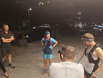 Stephanie Kröll vor dem Start - Foto: Racingteam Mountainshop Hörhager