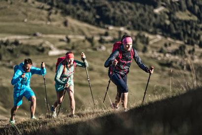 Leicht, sportlich & trendig: Intensives Berg- und Naturerlebnis im Outdoor-Paradies Imst mit dem 1. Speed Hiking Park Österreichs. Bildnachweis: © STORYTELLER LABS / SECEDA, SALEWA FACES