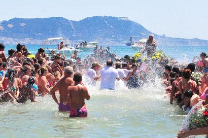 Romería Marítima de la Virgen de la Palma en Algeciras