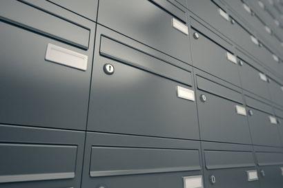 Briefkastenöffnung
