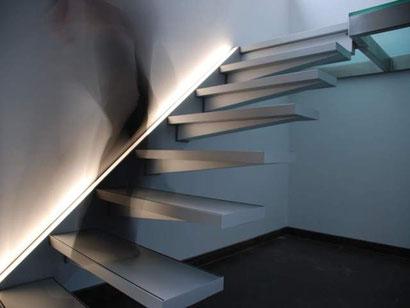 Zwevende trap van Graah