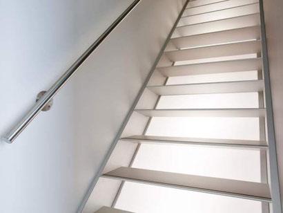 Gesloten trappen van Graah
