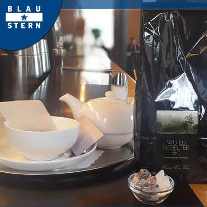 Blaustern Café Wien Tee trinken Frühstück genießen