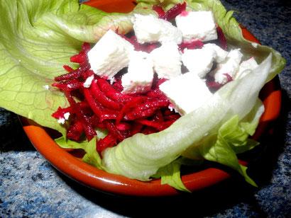 Rote Bete Rohkost Salat