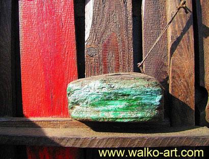 Treibholzkunst, Ausschnitt Relief von 1997, Jens Walko Kunst