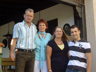 Familie Auth - Betreiber des Gasthauses Zum Ochsen Flieden