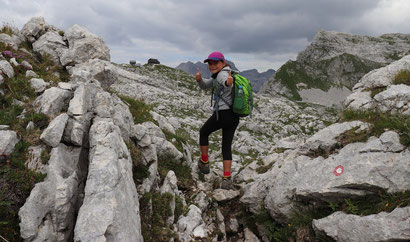 Kind Wandern Slowenien