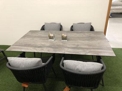 Gartenmöbel Tischgruppe Modell Kapstadt