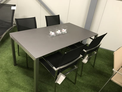 Gartenmöbel Tischgruppe Modell Pilatus / Coba