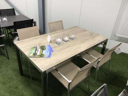 Gartenmöbel Tischgruppe Modell Famosa / Brüssel