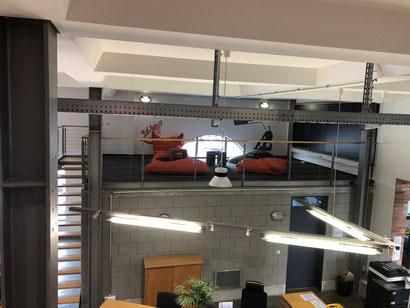 Innovationsfabrik - Team und Coaching Ecke