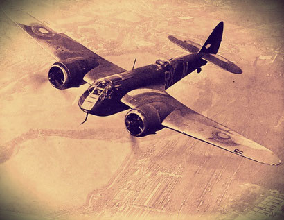 Bristol Blenheim.  (Archivio AeroStoria)