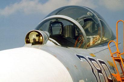 """Sensore IRST di un Su-27 """"Flanker"""""""
