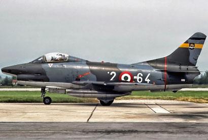 Un G.91R della 2^ Aerobrigata.
