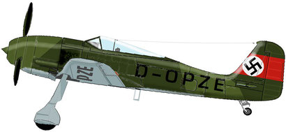 FW190A © Barry T.Russo