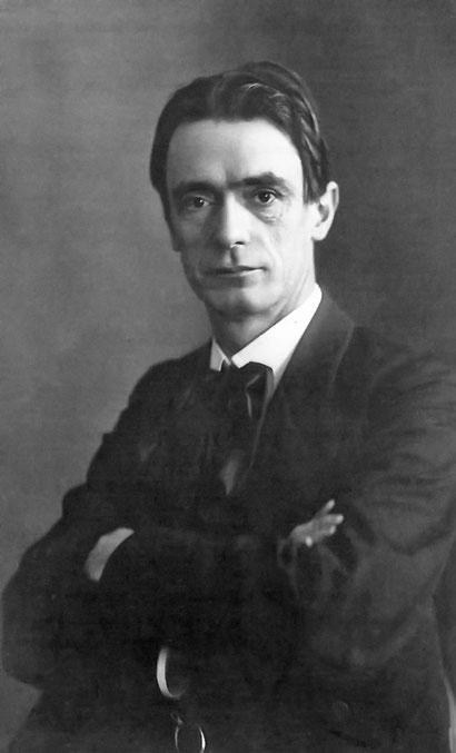 Dr. Rudolf Steiner (1861-1925, Begründer der Anthroposophie) / Aufnahme von Otto Rietmann um 1905