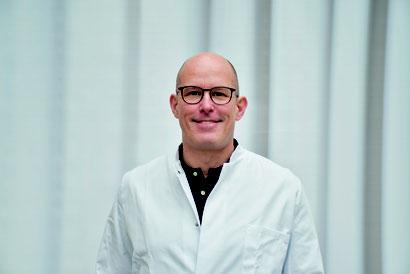 Dr. Gunnar Proff, Chefarzt der Viszeralchirurgie