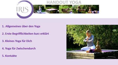 Tipps für deine yogaeinheit iris reininger yoga münchen personal