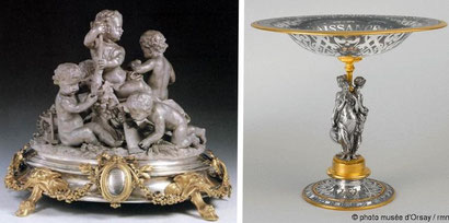 goldsmith's work Golden aluminum napoleon period