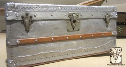 Louis Vuitton aluminum cabin trunk