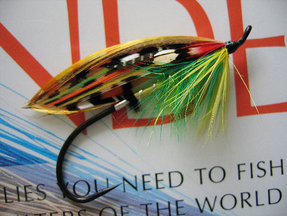 Salmon Steelhead Fly Green Highlander