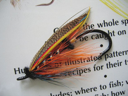 Salmon Steelhead Fly Thunder and Lightning