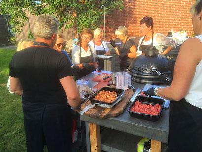Barbecue workshop op locatie