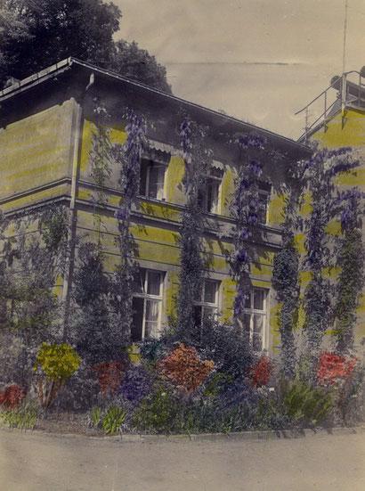 Garteninspektor-Wohnung vor dem Umbau - Aufnahme 1950