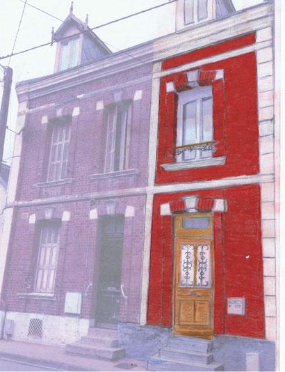 Rénovation façade programmée au printemps 2015
