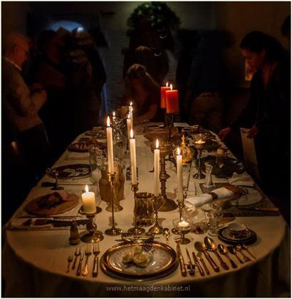 Diner voor Bestempelde Vrouwen www.herlegends.com