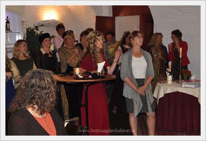 Kasteel Heeswijk expositie Vrouwen Bestempeld Sabine en Ellen Brouwers