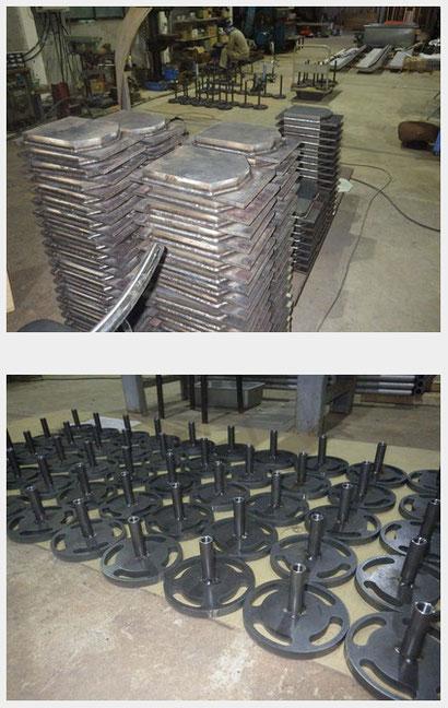 鉄の製作加工品