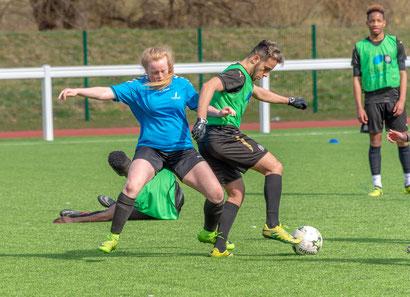 KickOff@3 Community Police football initiative mixed teams