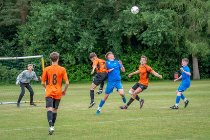 KickOff@3 youth football police RAF community initiative
