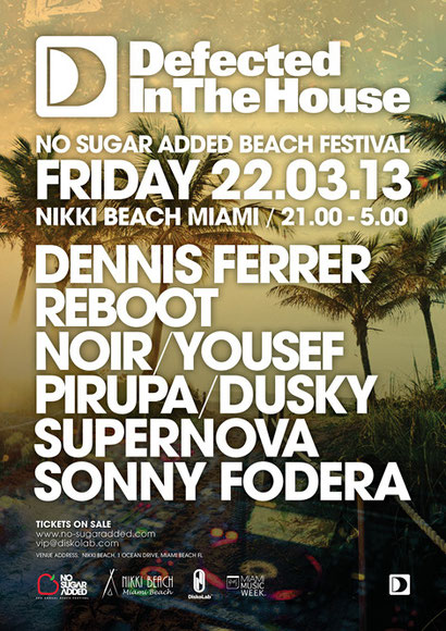 Defected In The House | Miami