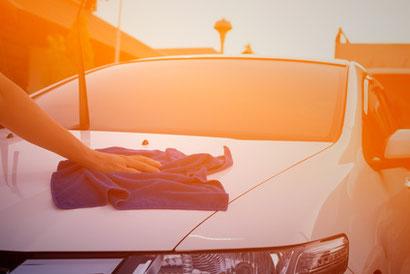 Aufwertung durch Autoaufbereitung.