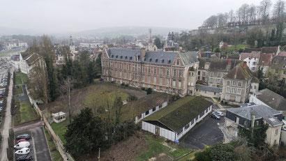 L'Hôtel-Dieu de Château-Thierry. Crédit photo : Romain Berthiot.